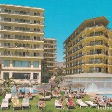 Postales: POSTAL HOTEL AMARAGUA Y HOTEL JORGE V. COSTA DEL SOL - TORREMOLINOS (MALAGA). Lote 89460584