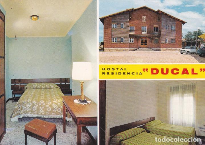 POSTAL HOSTAL RESIDENCIA DUCAL. LERMA (BURGOS) (Postales - Postales Temáticas - Hoteles y Balnearios)