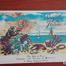 Postales: POSTAL NUEVA SIN CIRCULAR RESTAURANTE SCOGLIO DI FRISIO SANTA MARIA MAGGIORE ROMA. Lote 90873355