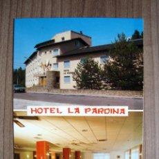 Postales: POSTAL HOTEL LA PARDINA - SABIÑANIGO, HUESCA - EDICIONES FERCA. Lote 92911690