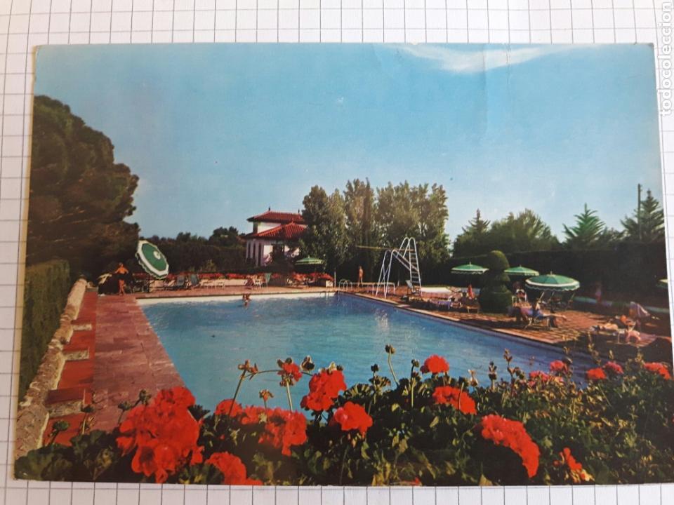 POSTAL CIRCULADA LLAVANERAS 1966 (Postales - Postales Temáticas - Hoteles y Balnearios)