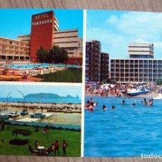 Postales: POSTAL HOTEL PANORAMA L´ESTARTIT, GIRONA - MALLOL. Lote 95211251