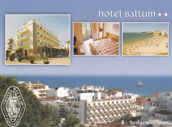 POSTAL PUBLICITARIA HOTEL BALTUM. ALBUFEIRA. PORTUGAL (Postales - Postales Temáticas - Hoteles y Balnearios)