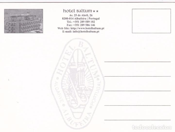 Postales: POSTAL PUBLICITARIA HOTEL BALTUM. ALBUFEIRA. PORTUGAL - Foto 2 - 95549279