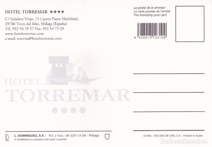 Postales: POSTAL PUBLICITARIA HOTEL TORREMAR. TORRE DEL MAR (MALAGA) - Foto 2 - 95553639