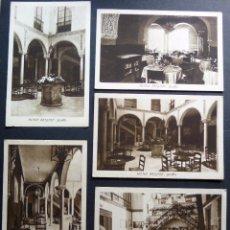 Postales: 5 ANTIGUAS POSTALES DEL HOTEL BRISTOL DE SEVILLA. Lote 95954655