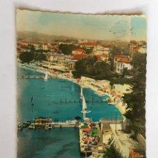 Postales: RM400 ANTIGUA POSTAL CIRCULADA SELLO MATASELLO JUAN LES PINS HOTEL BELLES RIVES. Lote 96983483