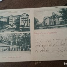 Postales: RECUERDO DE MONDARIZ,CIRCULADA. Lote 98356855