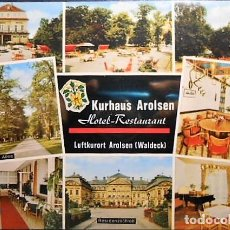 Postales: KURHAUS AROLSEN. ALEMANIA. SIN CIRCULAR. Lote 98439219