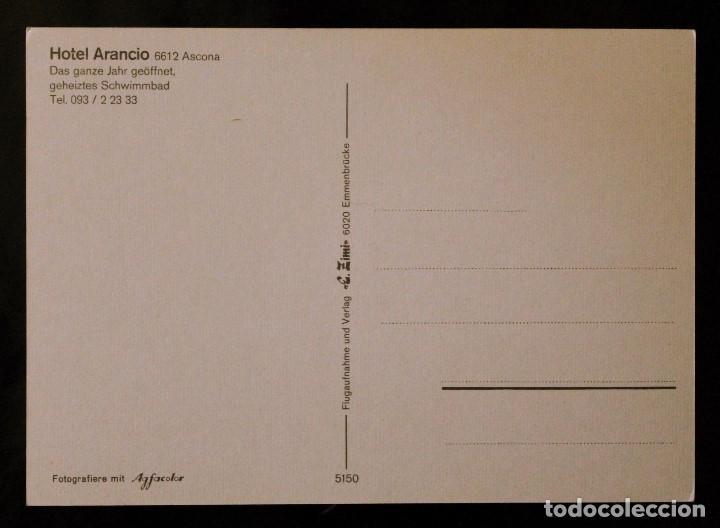 Postales: Postal Hotel Arancio. Ascona (Suiza) - Foto 2 - 99819223