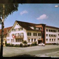 Postales: POSTAL HOTEL-RESTAURANT SONNE - LUCERNA (SUIZA). Lote 99819391
