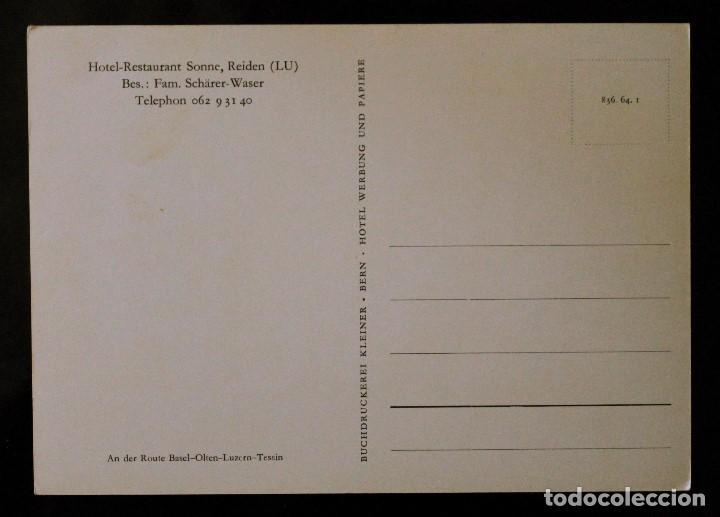 Postales: Postal Hotel-Restaurant Sonne - Lucerna (Suiza) - Foto 2 - 99819391