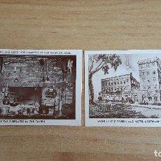 Postales: LOTE 2 POSTALES HOTEL NORTHAMPTON - VER FOTOS. Lote 103564435