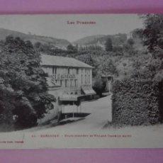 Postales: POSTAL FRANCIA BARBAZAN THERMES BALNEARIO. Lote 105092402
