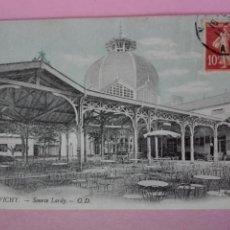 Postales: POSTAL FRANCIA VICHY SOURCE LARDY. Lote 105349394
