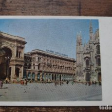 Postales: GRAND HOTEL DUOMO, MILAN, SIN CIRCULAR. Lote 105646407