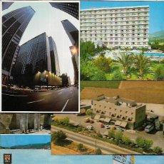 Postales: 90 POSTALES * HOTELES - BALNEARIOS - RESTAURANTES-CAMPINGS * ( LOTE Nº 205 ). Lote 107919195