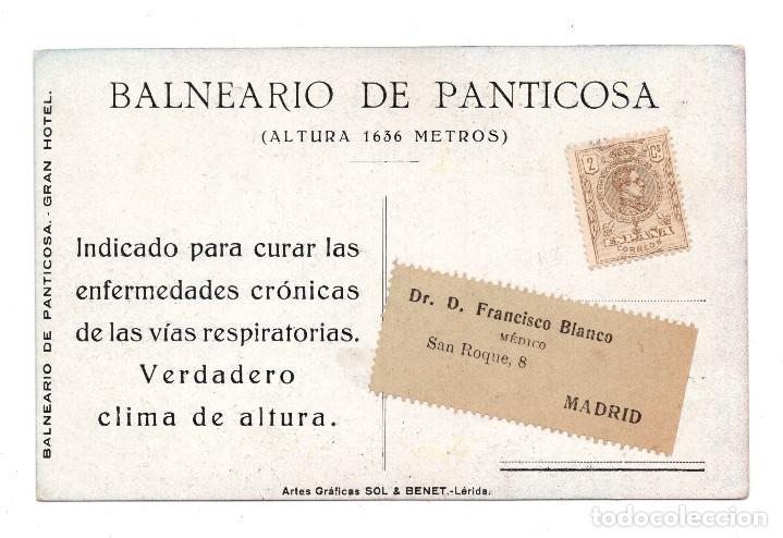 Postales: PANTICOSA . BALNEARIO DE PANTICOSA GRAN HOTEL - Foto 2 - 108739407