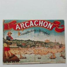 Postales: ARCACHÓN ESTACIÓN BALNEARIO INVERNAL. Lote 110992551