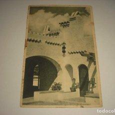 Postales: S'AGARO , COSTA BRAVA . LA COUR DE L'HOSTAL DE LA GAVINA, CIRCULADA . Lote 111702267