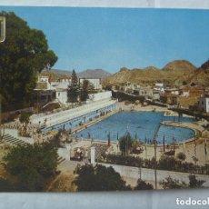 Postales: POSTAL DE ARCHENA ( MURCIA ): PISCINA MUNICIPAL . AÑOS 60. Lote 111805759