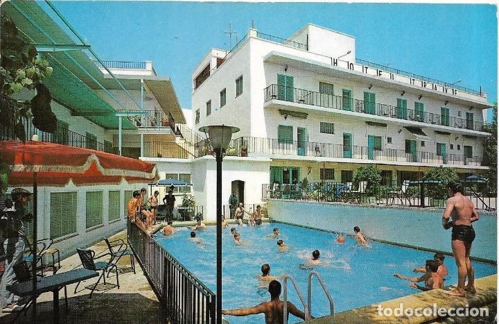 == C404 - POSTAL - HOTEL TRAVÉ - FIGUERAS - GERONA (Postales - Postales Temáticas - Hoteles y Balnearios)
