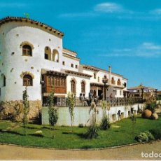 Postales: == C385 - POSTAL - MOTEL LA CARRETA - FACHADA RESTAURANTE - CARRETERA MADRID VALENCIA. Lote 113116243