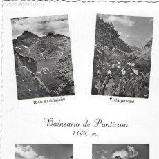 Postales: P- 8154. POSTAL BALNEARIO DE PANTICOSA, DIFERENTES VISTAS.. Lote 115470091