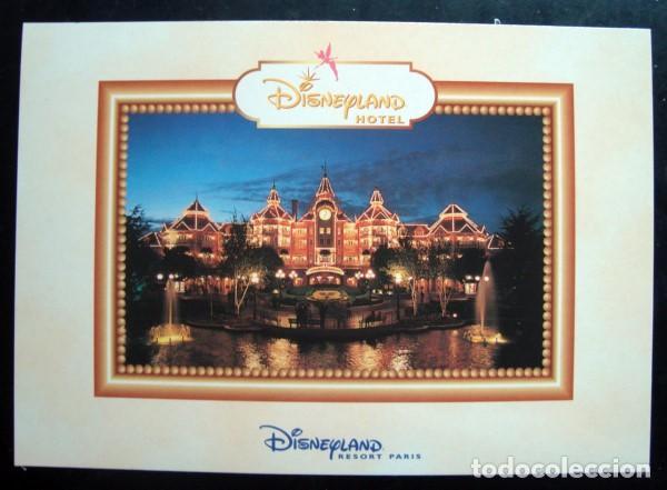 POSTAL HOTEL DISNEYLAND PARIS - DISNEYLANDIA, DISNEY (Postales - Postales Temáticas - Hoteles y Balnearios)