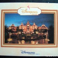 Postales: POSTAL HOTEL DISNEYLAND PARIS - DISNEYLANDIA, DISNEY. Lote 121680015