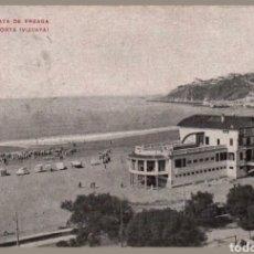 Postales: POSTAL BALNEARIO Y PLAYA DE EREAGA ALGORTA VIZCAYA. Lote 121720414
