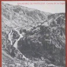 Postales: POSTAL BALNEARIO DE PANTICOSA CAMINO DEL LAGO. Lote 121720808