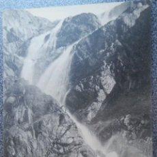 Postales: POSTAL BALNEARIO DE PANTICOSA CASCADA DEL FRAILE. Lote 121720944