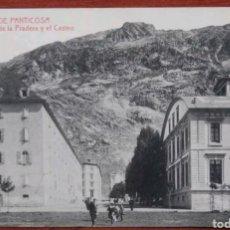 Postales: POSTAL BALNEARIO DE PANTICOSA CASA DE LA PRADERA Y CASINO. Lote 121724610