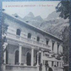 Postales: POSTAL BALNEARIO DE PANTICOSA EL GRAN CASINO. Lote 121726684