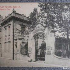 Postales: POSTAL N°13 CALDAS DE MALAVELLA BALNEARIO PRATS. Lote 121727112