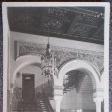 Postales: POSTAL HOTEL ALFONSO 13 ESCALERA PRINCIPAL SEVILLA. Lote 121957483