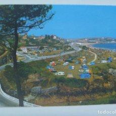 Postales: POSTAL DE COMILLAS ( SANTANDER ) : CAMPING . AÑOS 60. Lote 128019231