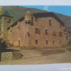 Postales: POSTAL DE ANDORRA : CASA DE LOS VALLES . AÑOS 60. Lote 128141631