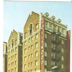 Postales: USA, HOLLYWOOD, HOTEL HOLLYWOOD INN, SIN CIRCULAR. Lote 128279111