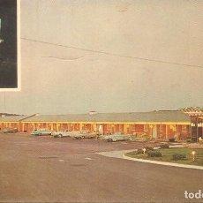 Postales: USA, OHIO, MOTEL EXIT 3, CIRCULADA CON SU SELLO. Lote 128279703