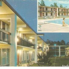 Postales: USA,FLORENCE, MOTEL FLORENCE, CIRCULADA CON SU SELLO. Lote 128280435