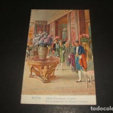 Postales: ROMA HOTEL EXCELSIOR. Lote 128412251