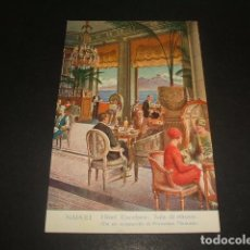 Postales: NAPOLES HOTEL EXCELSIOR. Lote 128412271