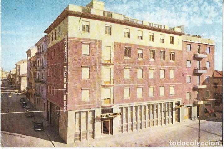 == P1291 - POSTAL - HOTEL TERMINUS & PLAZA - PISA (Postales - Postales Temáticas - Hoteles y Balnearios)