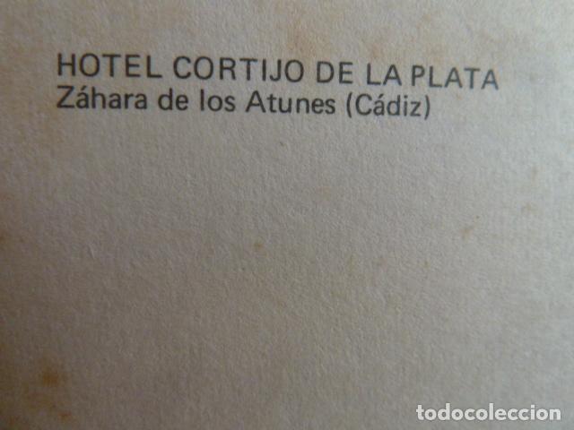 Postales: HOTEL CORTIJO DE LA PLATA -ZAHARA DE LOS ATUNES -CADIZ - Foto 2 - 130304606