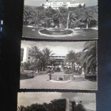 Postales: ANTIGUAS FOTO POSTALES DEL HOTEL SANTA CATALINA DE LAS PALMAS DE GRAN CANARIA. Lote 132918882