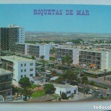 Postales: POSTAL DE HOTEL . ROQUETAS DE MAR ( ALMERIA ): AVENIDA DEL MEDITERRANEO.. Lote 133348054