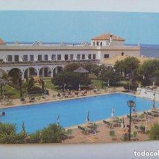 Postales: POSTAL DEL HOTEL PLAYA DE LA LUZ DE ROTA ( CADIZ ) . AÑOS 60. Lote 133506718