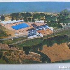 Postales: POSTAL DEL COMPLEJO TURISTICO HOSTAL DEL LAGO , SELLES ( LERIDA ), AÑOS 60.. Lote 133572578